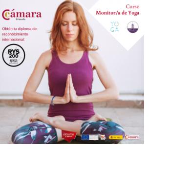 Curso Monitor/a de yoga. Programa PICE - Garantía Juvenil